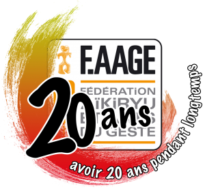 Logo 20 ans F.AAGE