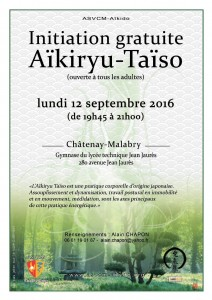 Affiche initiation taiso 12092016